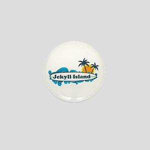 Jekyll Island GA - Surf Design. Mini Button