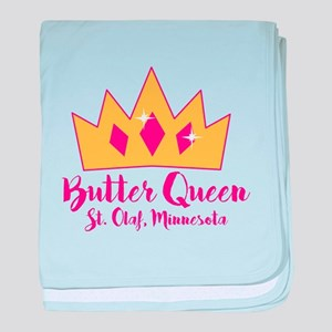 St Olaf Butter Queen baby blanket