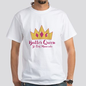 St Olaf Butter Queen White T-Shirt