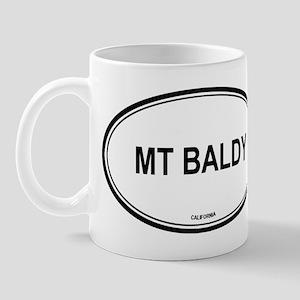 Mt Baldy oval Mug