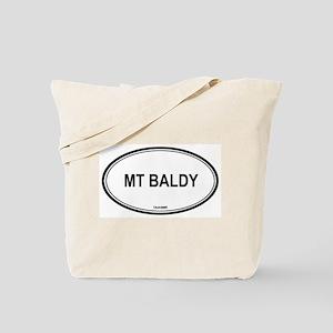 Mt Baldy oval Tote Bag