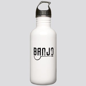 Retro Banjo Stainless Water Bottle 1.0L