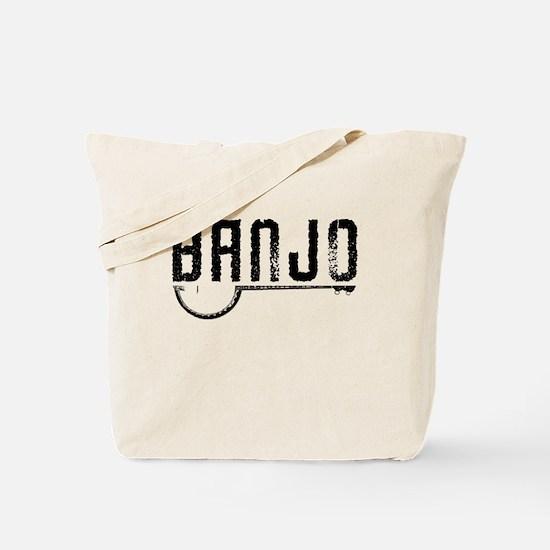 Retro Banjo Tote Bag
