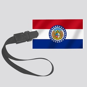Missouri State Flag Large Luggage Tag