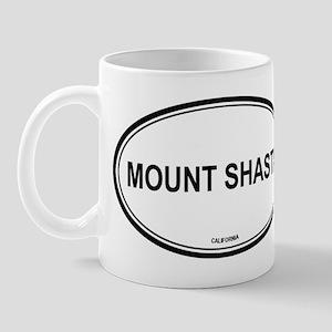 Mount Shasta oval Mug