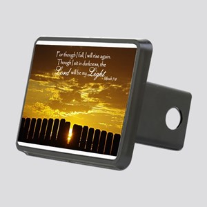 Lord will be my Light Rectangular Hitch Cover