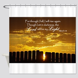 Lord will be my Light Shower Curtain