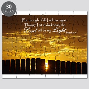 Lord will be my Light Puzzle