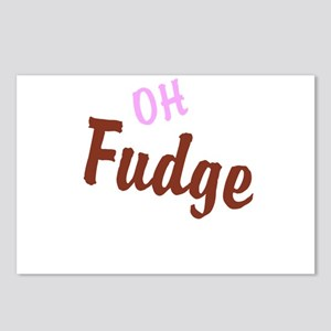 Oh Fudge Postcards (Package of 8)