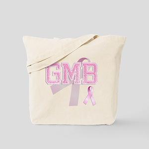 GMB initials, Pink Ribbon, Tote Bag