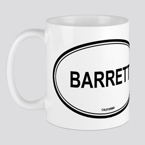 Barrett oval Mug