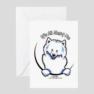 Samoyed IAAM Greeting Card
