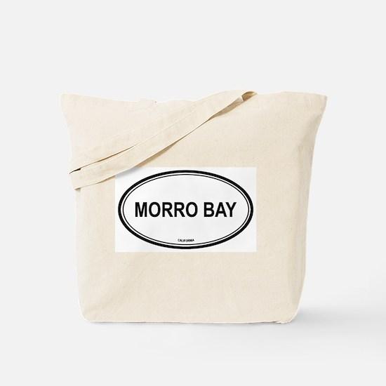 Morro Bay oval Tote Bag