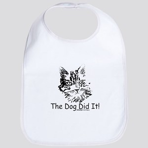 Paws4Critters The Dog Did It Bib