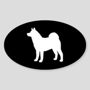 Akita Sticker (Oval 10 pk)