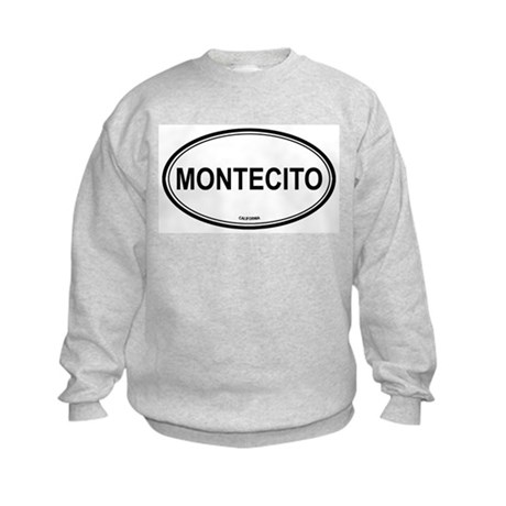 Montecito oval Kids Sweatshirt