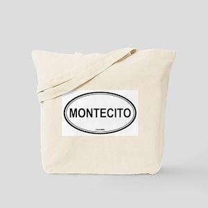 Montecito oval Tote Bag