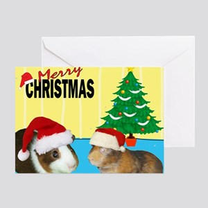 Merry Christmas Piggies Greeting Card