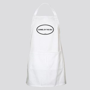 Carmel By The Sea oval BBQ Apron