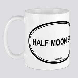 Half Moon Bay oval Mug