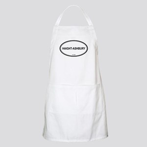 Haight-Ashbury oval BBQ Apron