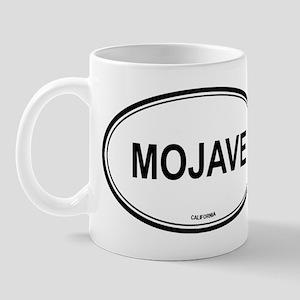 Mojave oval Mug