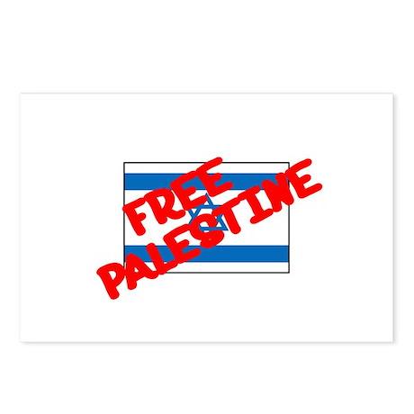 Free Palestine Postcards (Package of 8)