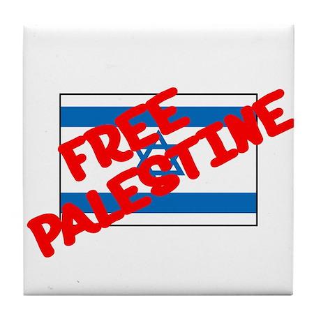 Free Palestine Tile Coaster