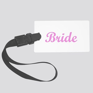 bride1 Large Luggage Tag