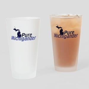 Michigander Drinking Glass