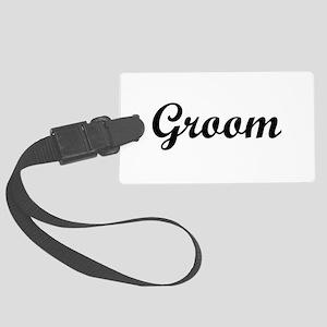groom Large Luggage Tag