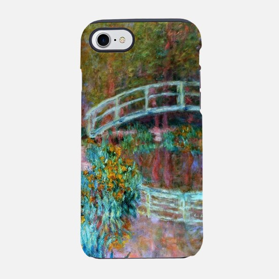 Monet Japanese Bridge, Giverny iPhone 7 Tough Case