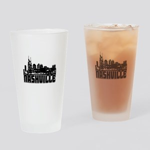 Nashville Skyline Drinking Glass