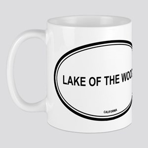 Lake Of The Woods oval Mug