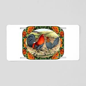 Beautiful Game Fowl Aluminum License Plate