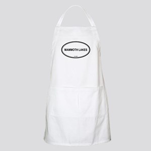 Mammoth Lakes oval BBQ Apron