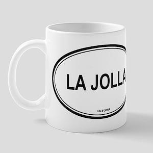 La Jolla oval Mug