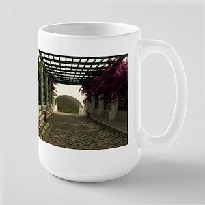 Relaxation corridor Large Mug