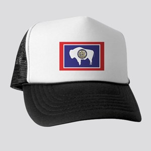 Wyoming State Flag Trucker Hat 0996ee8e9