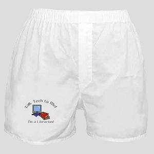 Talk Tech Boxer Shorts