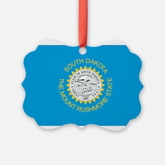 South Dakota State Flag Ornament
