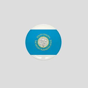 South Dakota State Flag Mini Button