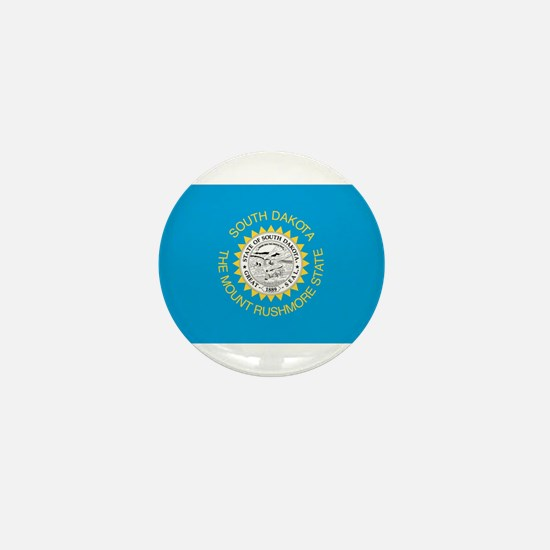 South Dakota State Flag Mini Button