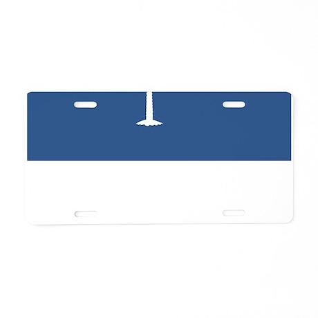 South Carolina State Flag Aluminum License Plate