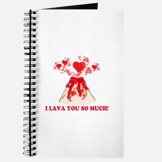 I Lava You Journal