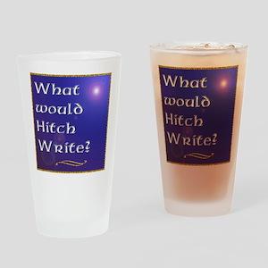 HitchWrite Drinking Glass