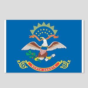 North Dakota State Flag Postcards (Package of 8)
