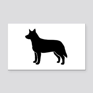 Australian Cattle Dog Rectangle Car Magnet