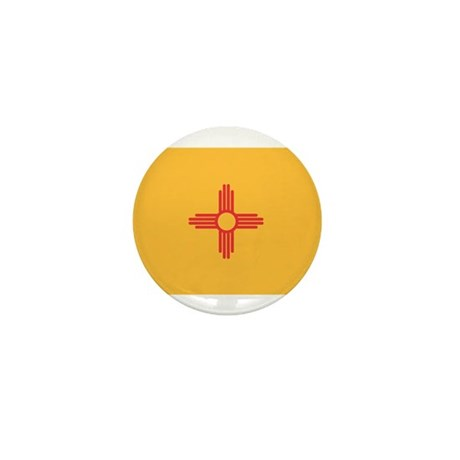 New Mexico State Flag Mini Button