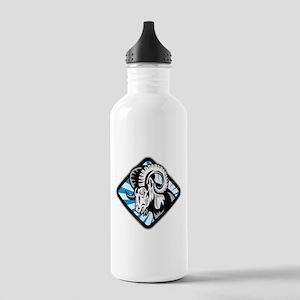 Bighorn Ram Sheep Goat Stainless Water Bottle 1.0L